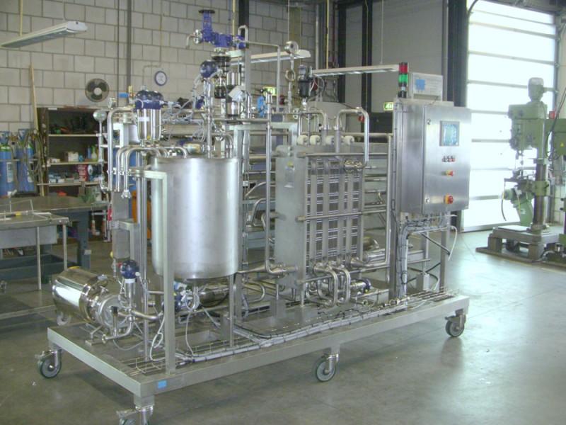 Pasteurisatie unit
